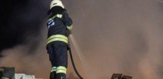 Konya'da Bir Binada Yangın Çıktı