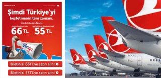 THY'nin İstanbul'dan Tüm Türkiye Uçuş Kampanyası