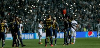 Beşiktaş'a Büyük Şok! UEFA Cezayı Kesti!