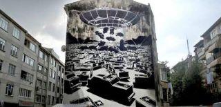 Kadıköy Duvar Resimlerinin Gif Hali