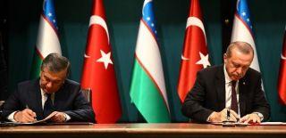 Türkiye-Özbekistan Arasında 22 Önemli Anlaşma