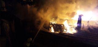 Ankara'da Bir Gecekondu Yandı