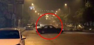 Bağdat Caddesi'ndeki Drift Terörü Kameralarda!