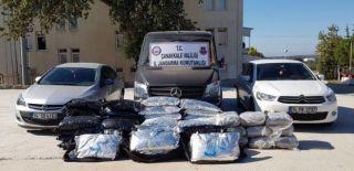 Çanakkale'de 2 Milyon Dolarlık Uyuşturucu Operasyonu