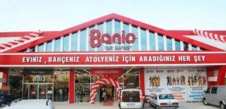 Antalya'da Ünlü Yapı Markete Kayyum Atandı