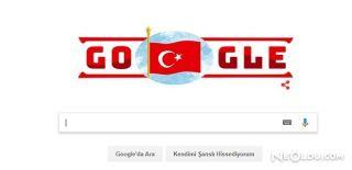 Google'dan Cumhuriyet Bayramı İçin 'Doodle'