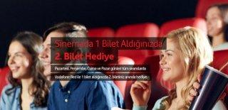 Vodafone Bir Bilet Alana 2. Bilet Hediye