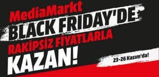 Media Markt Black Friday Yüzde 50'ye Varan İndirim Kampanyası