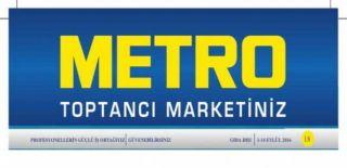 METRO Market World Kart 300 TL Alışverişe 30 TL Hediye Kampanyası