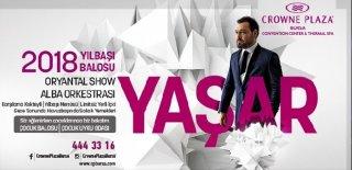 2018 Yılbaşı Programı Crowne Plaza Bursa Yaşar Konseri