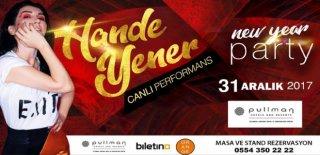 2018 Yılbaşı Programı Pullman İstanbul Airport Hotel Hande Yener Konseri