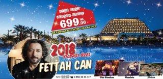 2018 Yılbaşı Programı Palm Wings Ephesus Resort Fettah Can Konseri