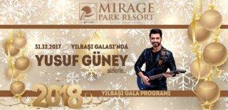 2018 Yılbaşı Programı Mirage Park Resort Antalya Yusuf Güney Konseri