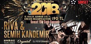 2018 Yılbaşı Programı Bursa Sonset FSM Riva-Semih Kandemir Konseri
