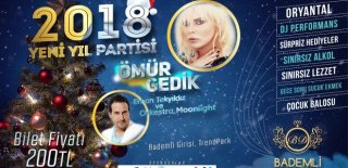 2018 Yılbaşı Programı Bursa Bademli Davet Ömür Gedik Konseri