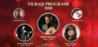 2018 Yılbaşı Programı Bursa Baia Hotel Ömür Gençel Konseri