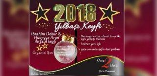 2018 Yılbaşı Programı Bursa One2One Restaurant İbrahim Dokur-Hubeyya Arun Konseri