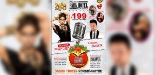 2018 Yılbaşı Programı Ankara Büyükhanlı Park Otel Popstar Firdevs Konseri