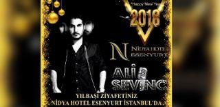 2018 Yılbaşı Programı İstanbul Nidya Hotel Esenyurt Ali Sevinç Konseri