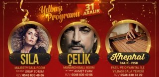 2018 Yılbaşı Programı Kıbrıs Lords Palace Hotel Sıla-Çelik Konseri
