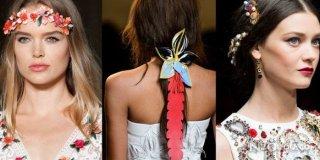 2015 İlkbahar Yaz Saç Aksesuarları