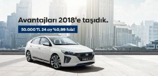 Hyundai IONIQ Kredi Kampanyası