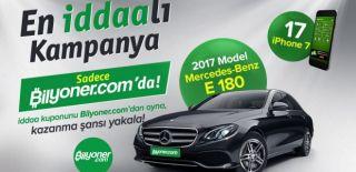 Bilyoner.com BMW 218i Coupe ve iPhone X Çekiliş Kampanyası