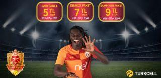Turkcell – Galatasaray Sarı Kırmızı Destek Paketi Kampanyası
