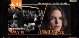 14 Şubat 2018 Sevgililer Günü 06:45 KK Ankara Yank & Lara Di Lara Konseri