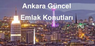 Ankara Güncel Emlak – Konut Projeleri