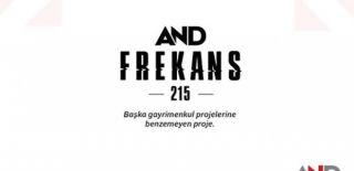 AND Frekans 215 Projesi ve Fiyat Listesi
