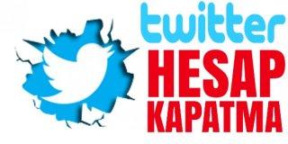 Twitter Hesabı Kalıcı Olarak Nasıl Silinir & Twitter Hesabı Kapatma