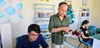 Şanlıurfa'da Kurulan Millet Kıraathanesi'ne Yoğun İlgi