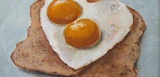 Sahanda Yumurta İle Yapılan En İyi 15 Sanat Eseri