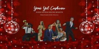 2019 Yılbaşı Programı Sueno Hotels Behzat Gerçeker & Enbe Orkestrası Konseri
