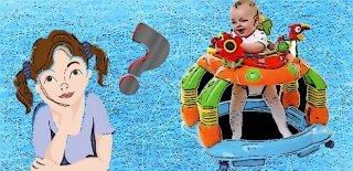 Yürüteç Bebekler İçin Zararlı mıdır?