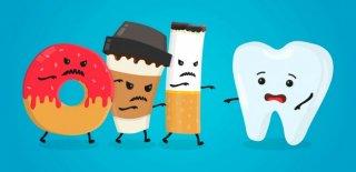 Dişlere Zarar Veren Yiyecekler