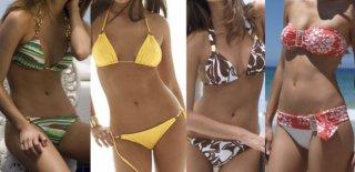 Vücut Tipinize Göre Bikiniler