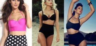 2019 Yüksek Bel Bikini Modası