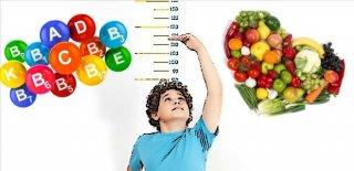 Boy Uzamasına Yardımcı Vitamin ve Besinler
