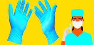 Sağlık Çalışanları İçin Eldiven Kullanımı