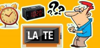 İnsanların Geç Kalınca Verdiği 8 İlginç Mazeret!