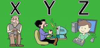 X, Y ve Z Kuşakları Nedir & Nesilden Nesile X, Y ve Z Kuşakları!