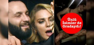Ünlülerin Katıldığı Doğum Günü Partisine Striptizci Damga Vurdu