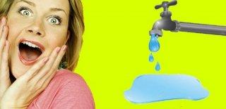 Su Faturasını Düşürmenin 10 Yolu!