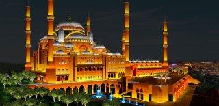 Çamlıca Camii Yapımı Tamamlandı