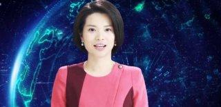 Çin'in Şinhua Haber Ajansında Robot Sunucu İlk Ekranlara Çıktı