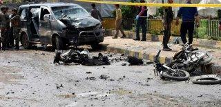 El Bab Kentinde Patlama: Üç Yaralı