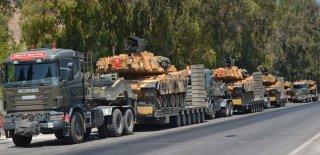 Suriye Sınırına Askeri Sevkıyat Sürüyor!