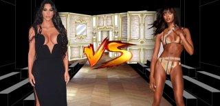 Kim Kardashian Naomi Campbell'i Taklit Ediyor! Foyası Ortaya Çıktı!